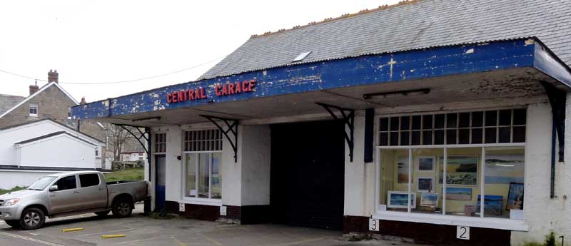 Central Garage In Port Isaac
