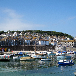a small fishing village in Cornwall, Mousehole
